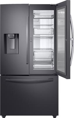 Samsung - 27.8 Cu. Ft. French Door Refrigerator with Food Showcase